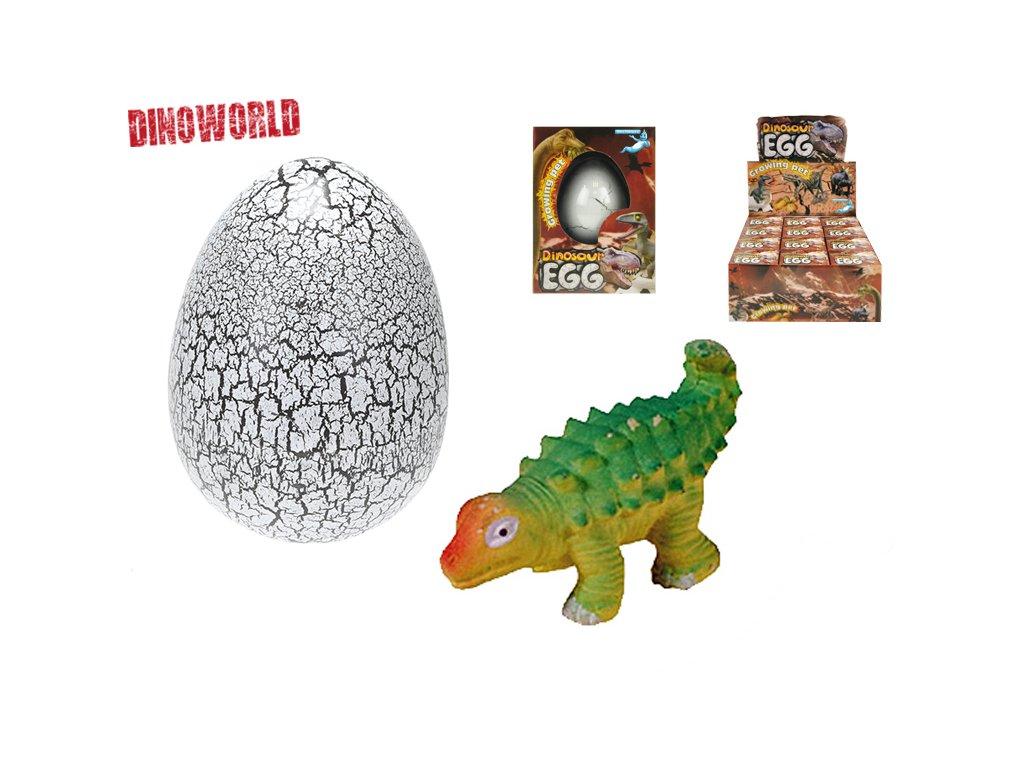 Dinosaurus líhnoucí se a rostoucí v krabičce 12ks v DBX