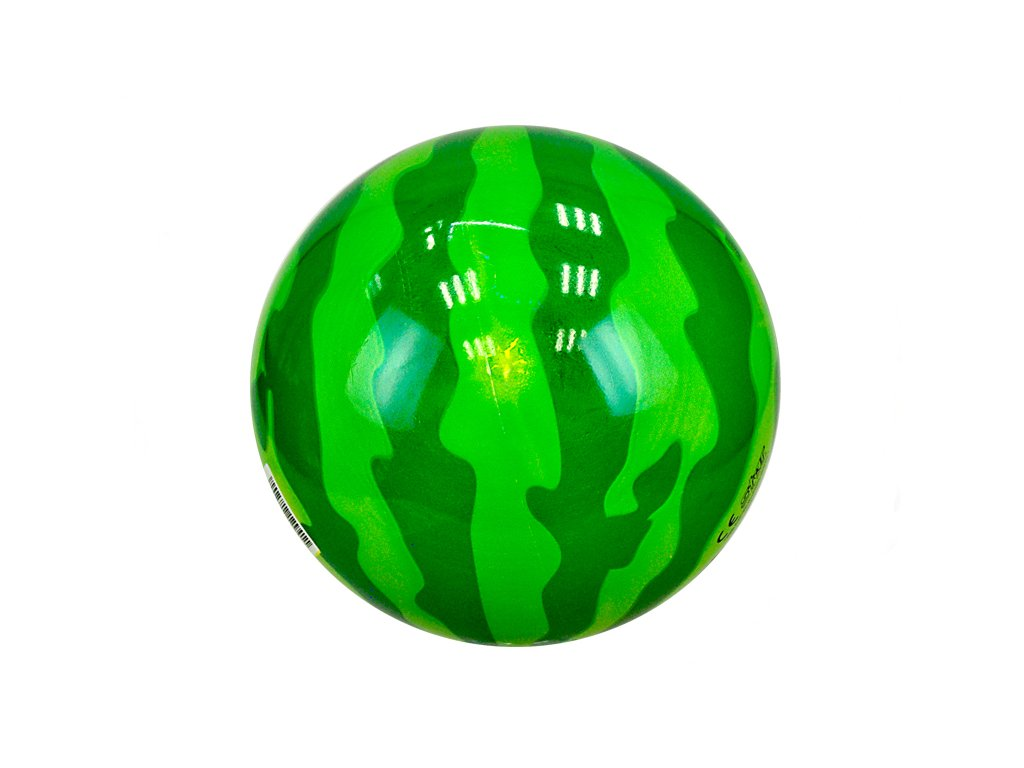 Míč 20cm vodní meloun 10m+ v síťce
