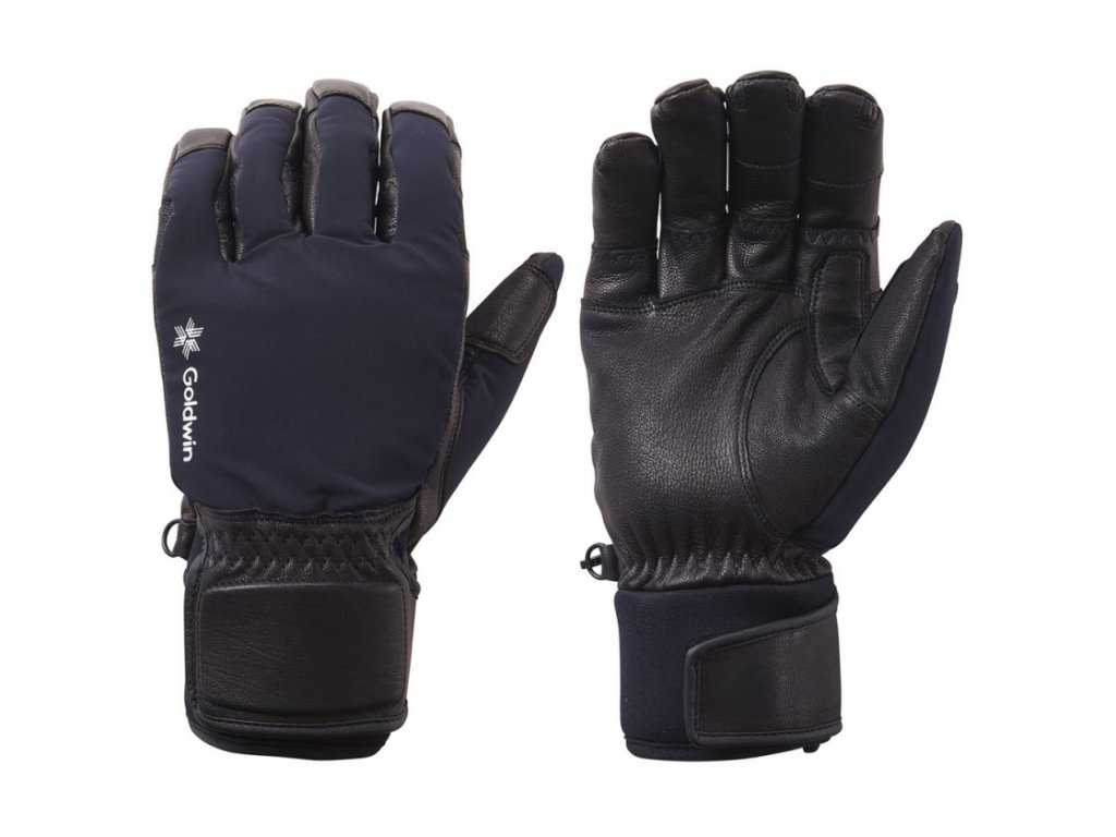 goldwin panske rukavice flex black s