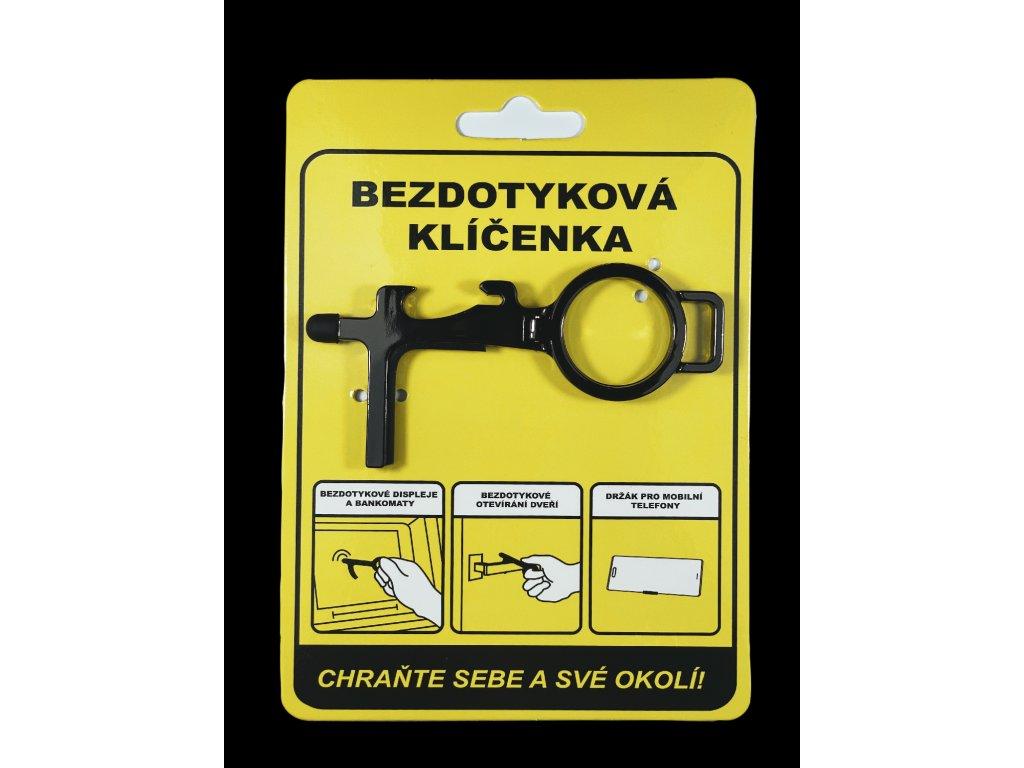 Bezdotyková klíčenka