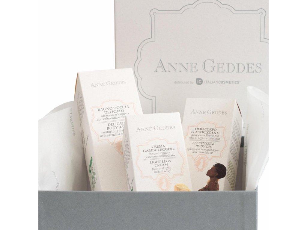 Anne Geddes Italian cosmetics Anne Geddes dárkový box plný bio kosmetiky pro maminku
