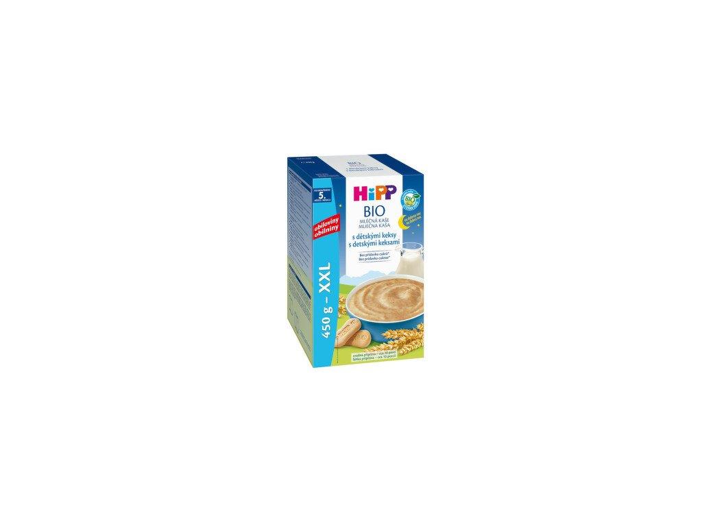 HiPP BIO Mléčná kaše na dobrou noc s dětskými keksy