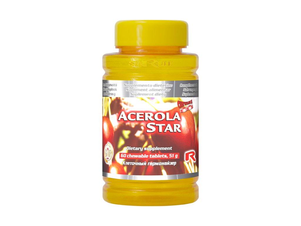 ACEROLA STAR, 60 tbl - vitamin C