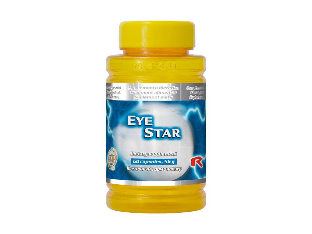 EYE STAR, 60 cps - podpora očí