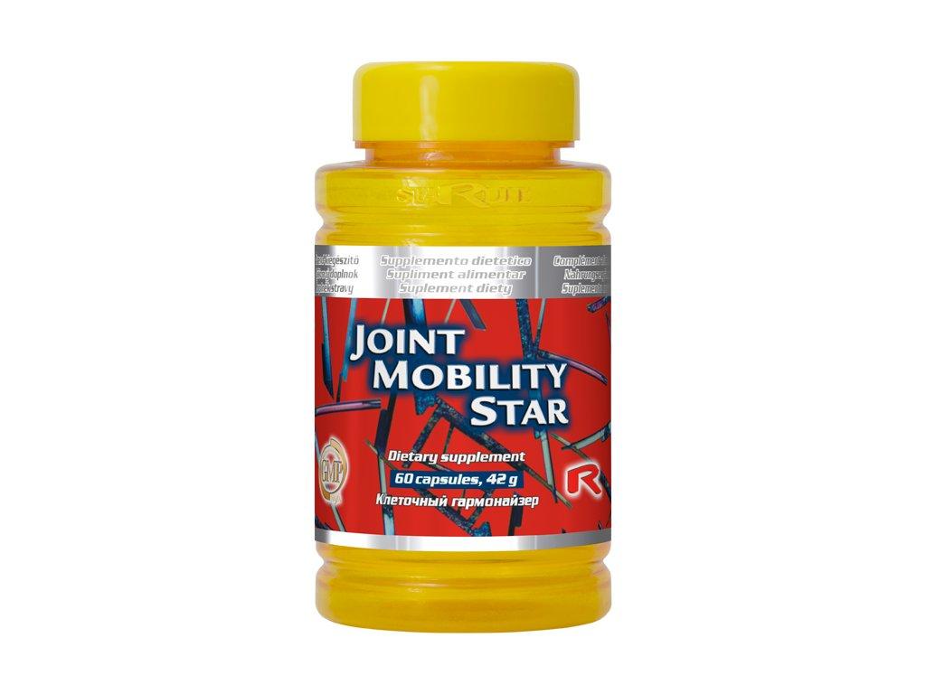 JOINT MOBILITY STAR, 60 cps - kolagen, hořčík, lněné semínko…