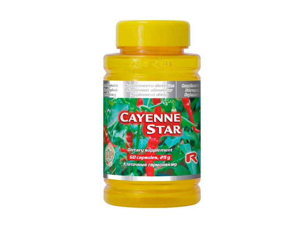 CAYENNE STAR, 60 cps - paprika křovitá (kapsaicin)