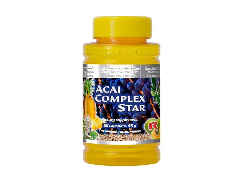 ACAI COMPLEX STAR, 60 cps - antioxidant, zdravé trávení