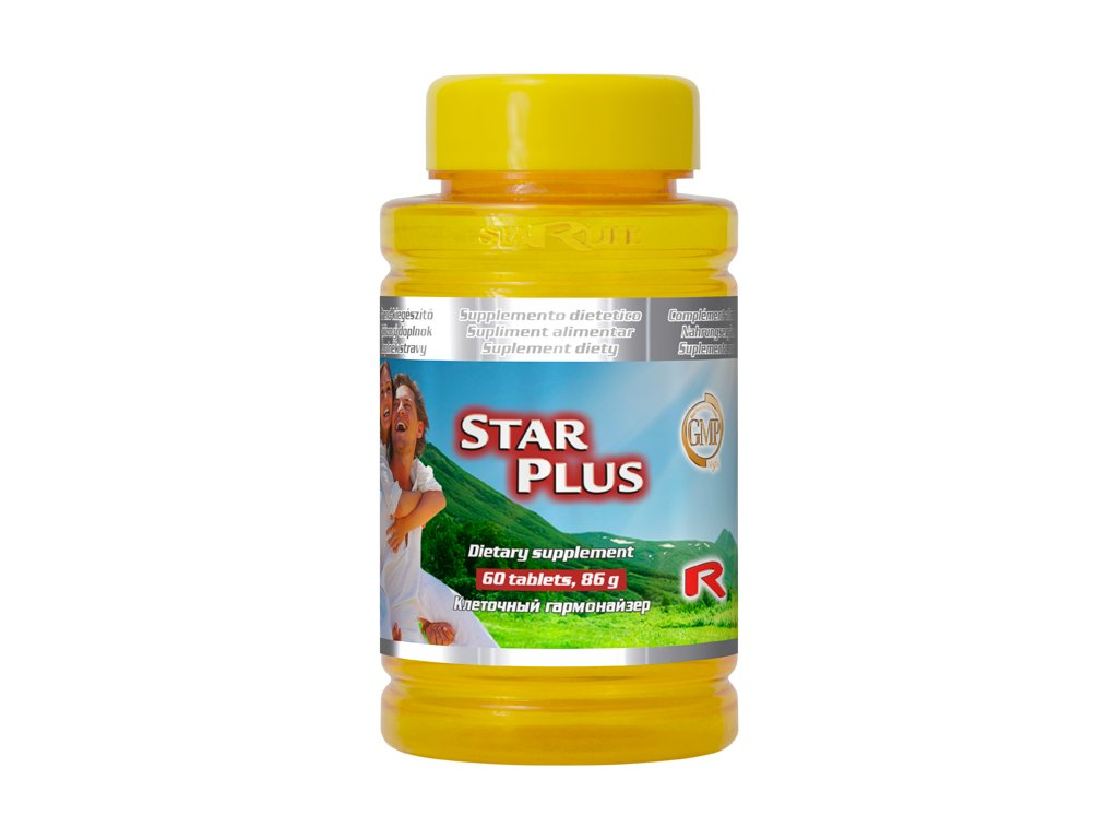 STAR PLUS, 60 tbl - směs vitaminů a minerálních látek