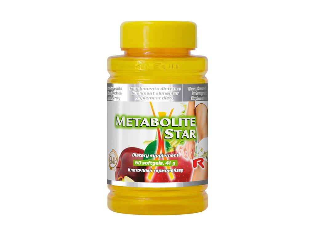 METABOLITE STAR, 60 sfg - mořská řasa, jablečný ocet, vitamin B6