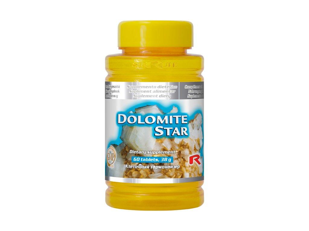 DOLOMITE STAR, 60 tbl - vápník, hořčík