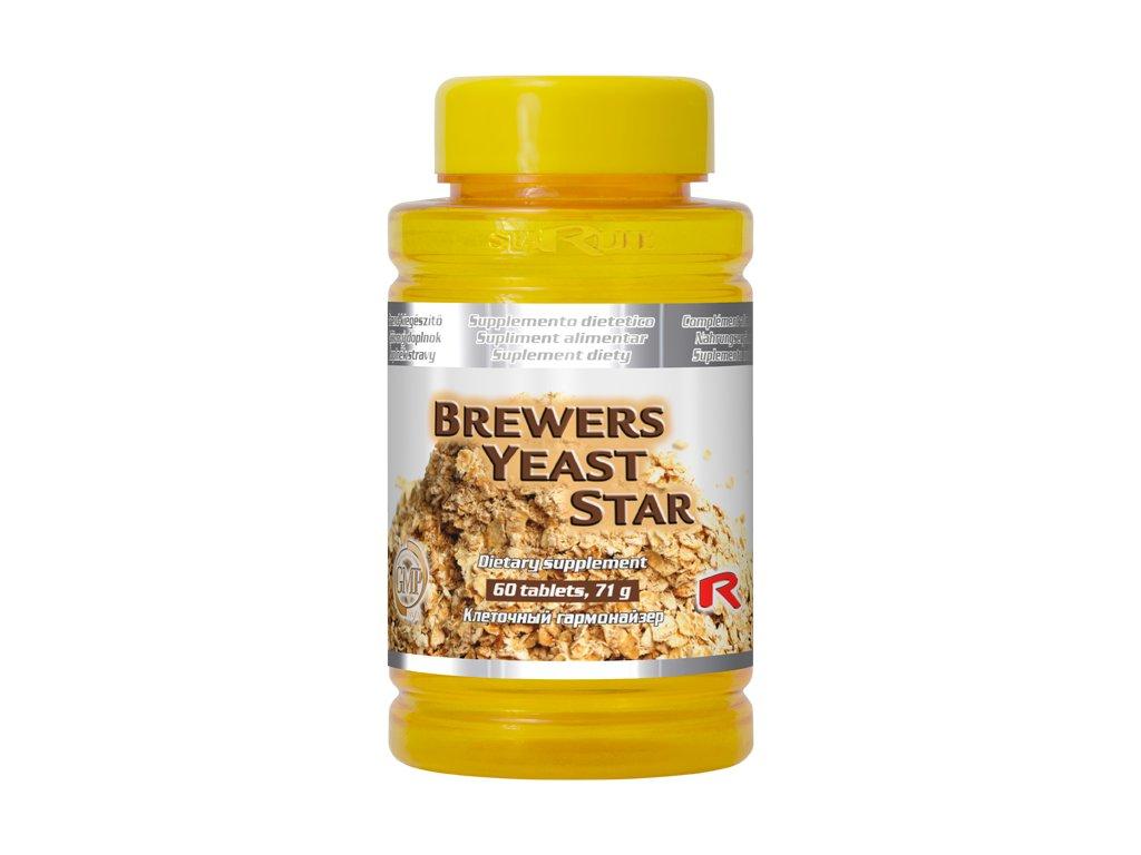 BREWERS YEAST STAR, 60 tbl - pivovarské kvasnice