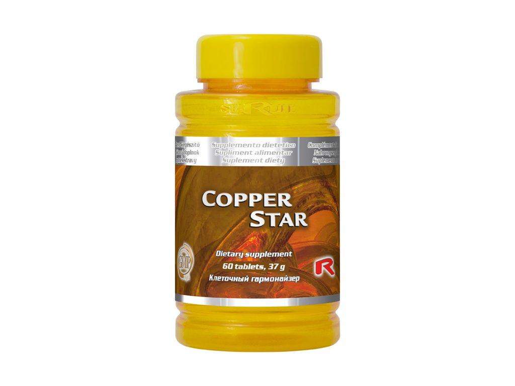 COPPER STAR, 60 tbl - doplněk mědi – nervová soustava
