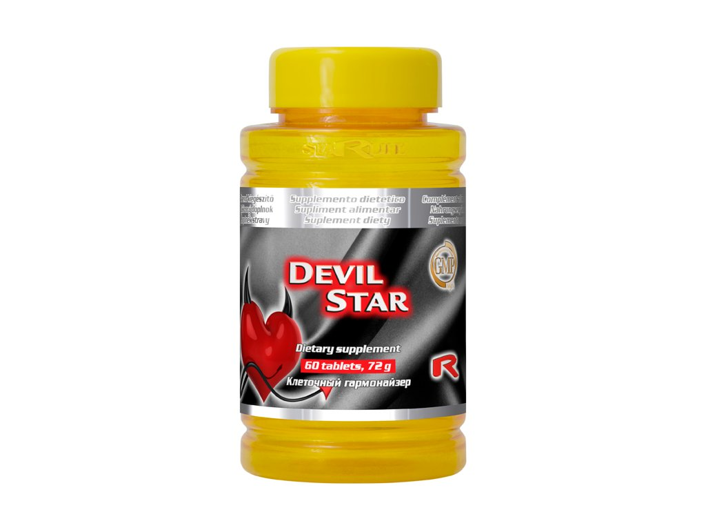 DEVIL STAR, 60 cps - ďábelsky dobrý sex