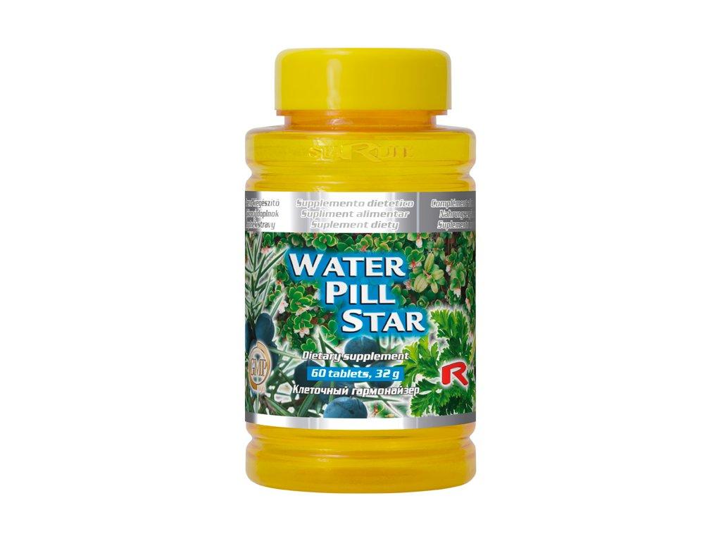 WATER PILL STAR, 60 tbl - byliny – močové cesty a ledviny