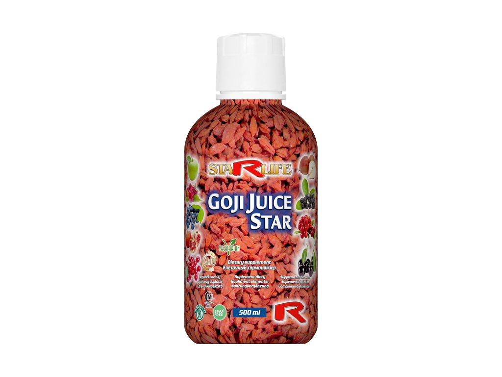 GOJI JUICE STAR, 500 ml - unikátní směs antioxidantů, imunita, trávení