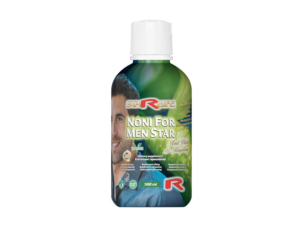 NONI FOR MEN STAR, 500 ml - doplněk stravy pro muže