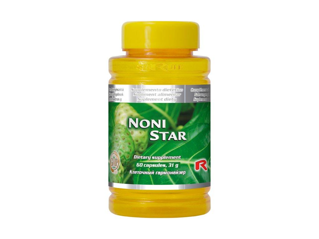 NONI STAR, 60 cps - celková harmonizace a vitalizace