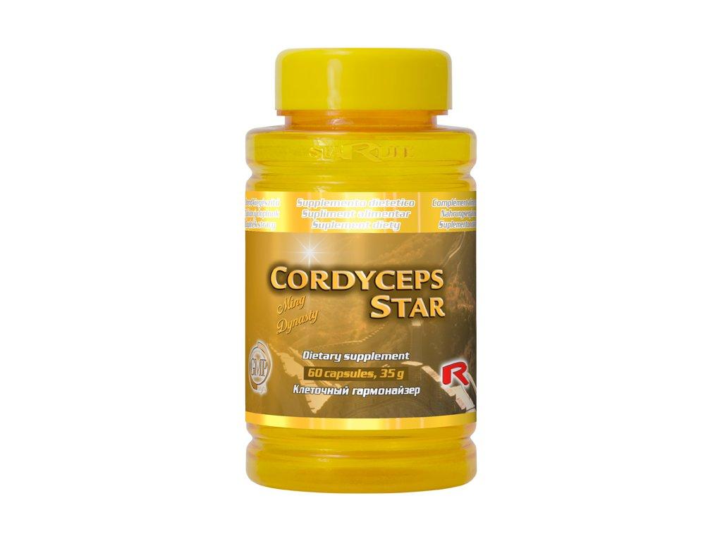 CORDYCEPS STAR, 60 cps - Cordyceps + Ganoderma