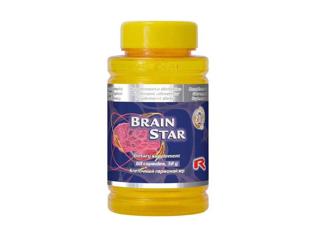 BRAIN STAR, 60 cps - pro posílení psychické a nervové činnosti