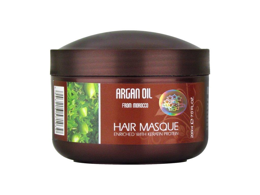 ARGAN HAIR MASQUE KERATIN PROTEIN, 200 ml - maska na vlasy s keratinovým proteinem