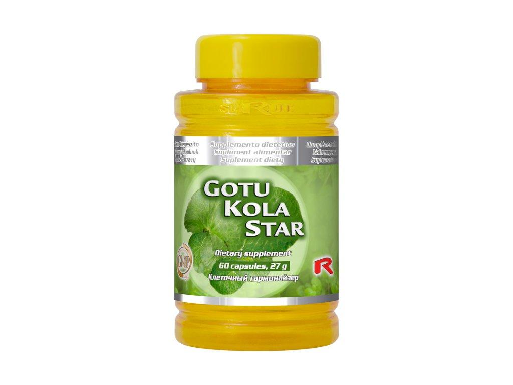 GOTU KOLA STAR, 60 cps - Gotu Kola – oběhový systém