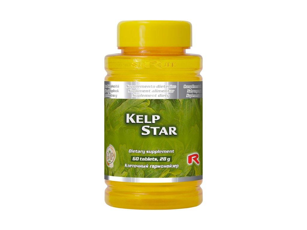 KELP STAR, 60 tbl - mořská řasa – zdroj jódu