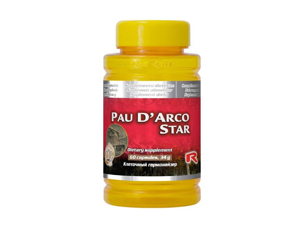 PAU D`ARCO STAR, 60 cps - Lapacho – obranyschopnost organismu