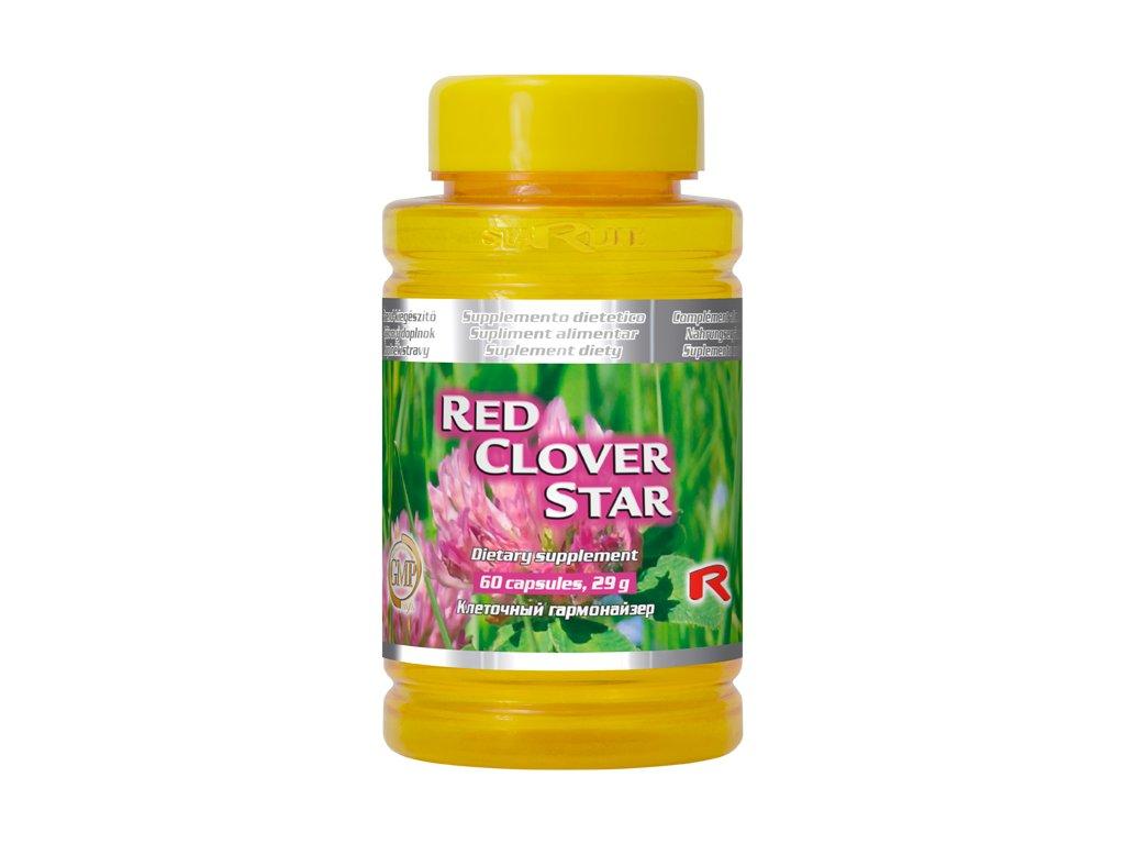 RED CLOVER STAR, 60 cps - jetel luční – pro ženy v menopauze