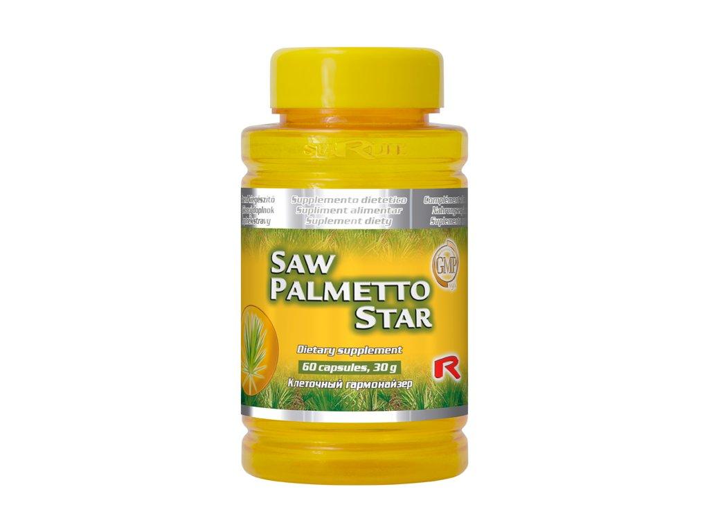 SAW PALMETTO STAR, 60 cps - serenoa plazivá – zdraví mužů