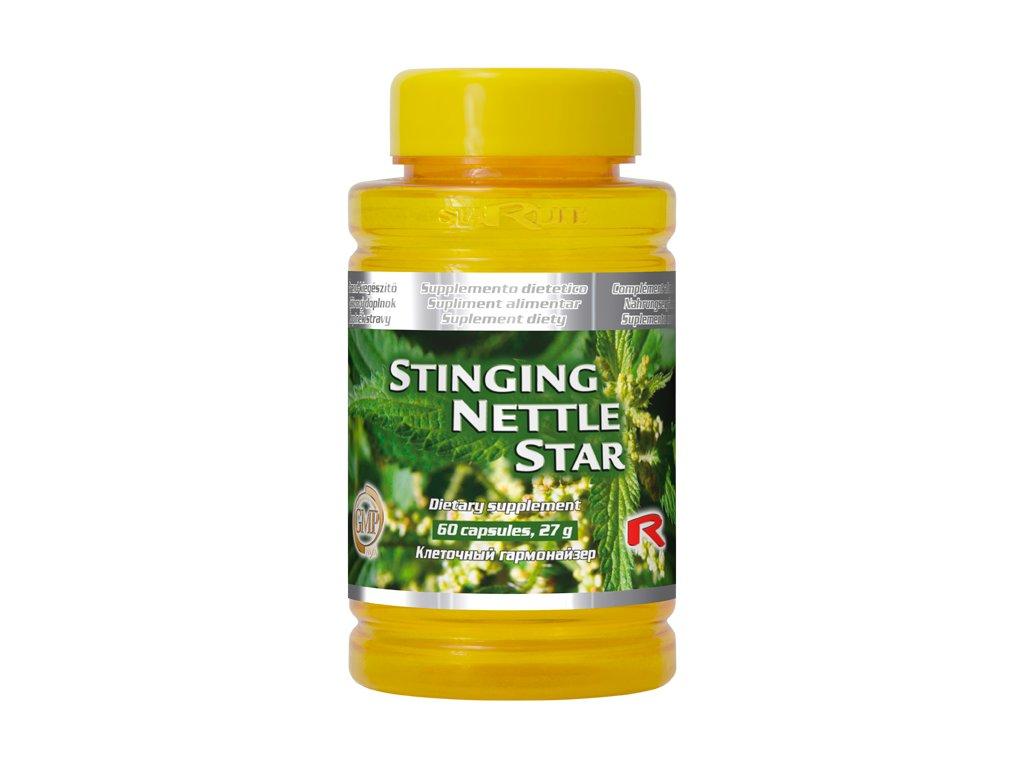STINGING NETTLE STAR, 60 cps - kopřiva dvoudomá – vitalita, energie