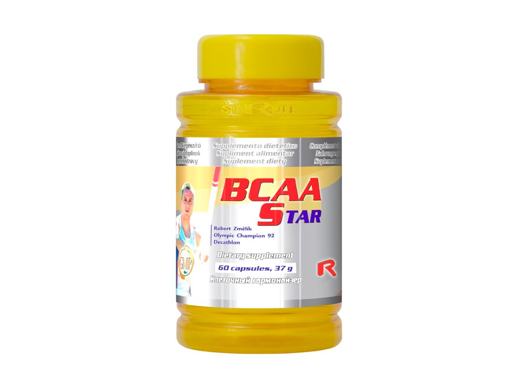 BCAA STAR, 60 cps - valin, leucin, isoleucin