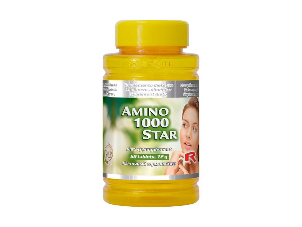 AMINO 1000 STAR, 60 tbl - podpora kostí a chrupavek