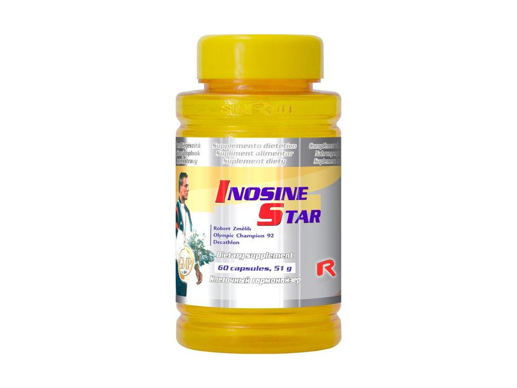 INOSINE STAR, 60 cps - inositol – zdroj energie
