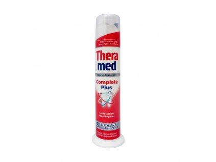 Schwarzkopf & Henkel THERAMED Zubní pasta s aplikátorem 100ml Theramed typ: Complete Plus (červená) - pro kompletní ústní hygienu
