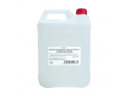 FLOREA tekuté mýdlo s antibakteriální přísadou 5L