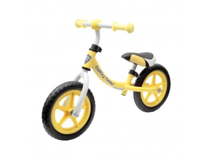 BABY MIX TWIST Dětské odrážedlo kolo 1ks Barva odrážedla: žlutá