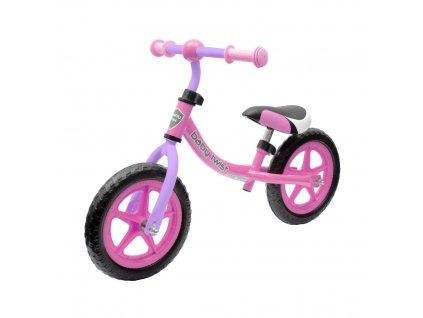 BABY MIX TWIST Dětské odrážedlo kolo 1ks Barva odrážedla: růžovo-fialová