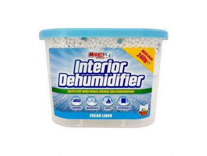 Mighty Burst (UK) MIGHTY BURST Interiérový pohlcovač vlhkosti 240g Interior Dehumidifier: Svěží prádlo (Fresh Linen)