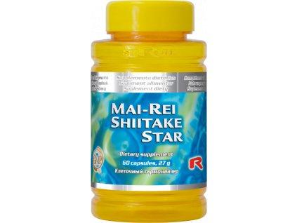 MAI-REI SHIITAKE STAR, 60 cps - Směs hub Maitake, Shiitake a Reishi…