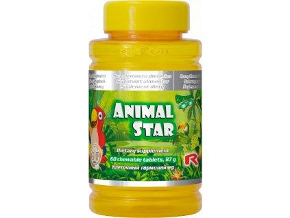 ANIMAL STAR, 60 tbl - vitaminy a minerály pro děti