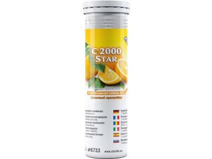 C 2000 STAR, 15 tbl - vitamin C – obranyschopnost organismu