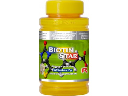 BIOTIN STAR, 60 tbl - biotin = vitamin H