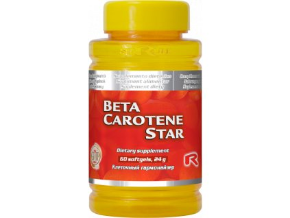 BETA CAROTENE STAR, 60 sfg - 25.000 I.U. vitaminu A