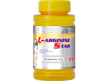 L-ARGININE STAR, 60 cps - v období růstu, při zvýšené tělesné námaze