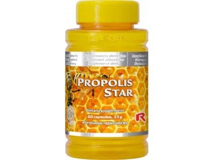 PROPOLIS STAR, 60 cps - včelí propolis – dezinfekční účely