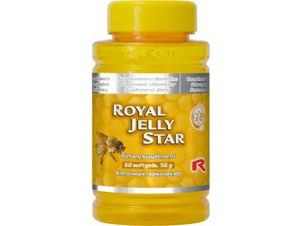 ROYAL JELLY STAR, 60 sfg - včelí mateří kašička – tajemství včel