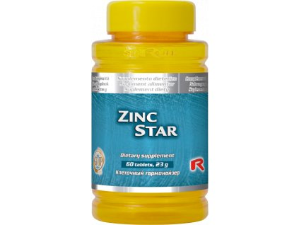 ZINC STAR, 60 tbl - zinek – plodnost a reprodukce