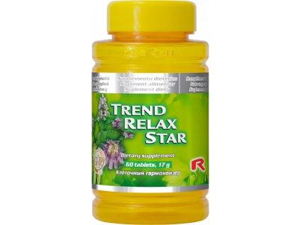 TREND RELAX STAR, 60 tbl - byliny – dušenvní a fyzická pohoda
