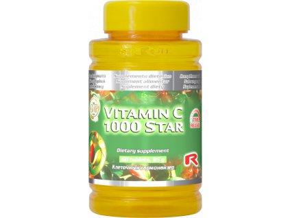 VITAMIN C 1000 STAR, 60 tbl - král vitaminů