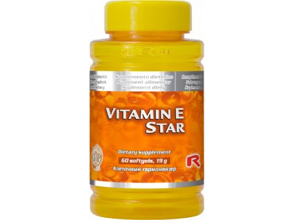 VITAMIN E STAR, 60 sfg - antioxidant